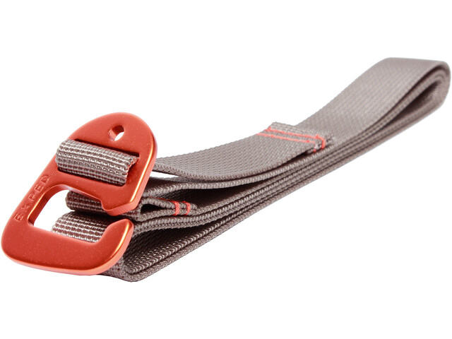 Exped Accessory Strap 20mm x 120cm (Set of 2) grey-terracotta